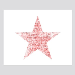 Faded Red Star Posters